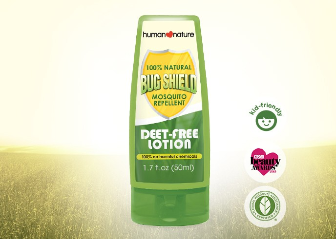 Bug Shield DEET-Free Lotion