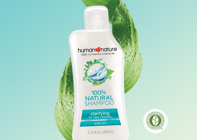 Clarifying Shampoo Human Nature Singapore Cosmetics